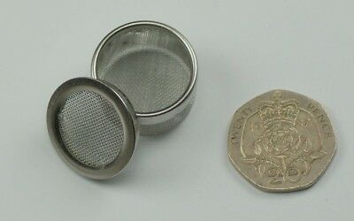 Mesh container ultrasonic cleaning steel watch parts watchmakers or jewellers