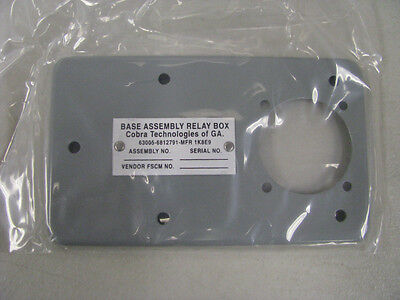 Cobra Technologies Base Assemly relay box Part# 6812791   NSN: 4945-00-672-4141