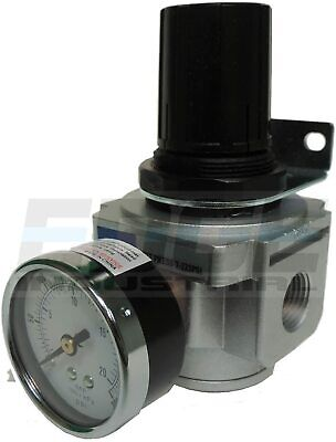 Industrial Grade Heavy Duty Compressed Air In Line Pressure Regulator 1/2 Npt
