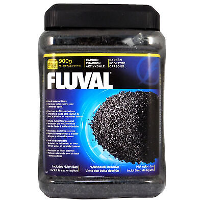 HAGEN FLUVAL ACTIVATED CARBON 900g FREE FILTER BAG FISH TANK EXTERNAL FILTER