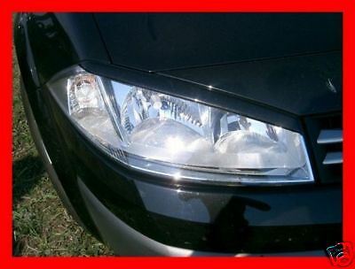Renault Megane 2 - Casquettes De Phares (Abs) - Tuning-Gt
