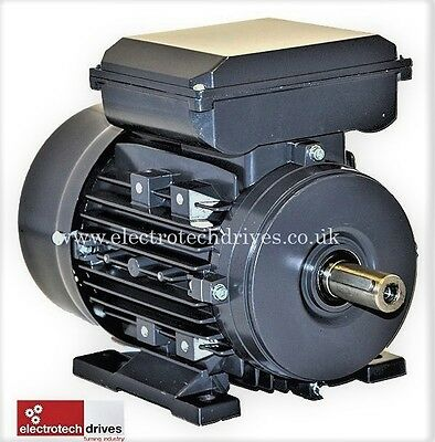 1.1kw 240v Single Phase Electric Motor 1,5hp 4 pole 1400rpm Brand New !!!