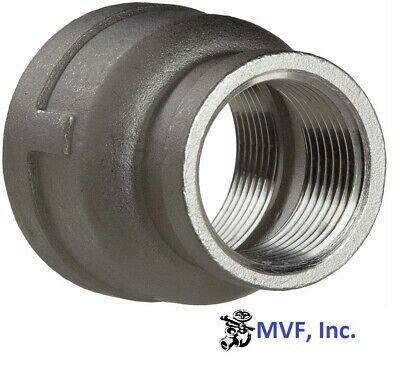 """1"""" X 3/4"""" 150 304 Stainless Steel Bell Reducer  Reducing Coupling Brewing  565Wh"""