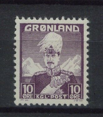 Greenland SG#4 10ore Christian x MNH