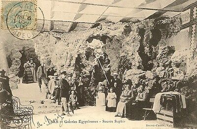 Carte Postale Galeries Egyptiennes Source Sophie