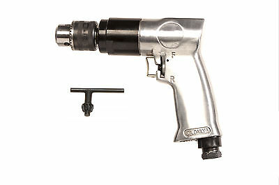 "Thorite Diamond 3/8"" Chuck 1800RPM Reversible Air Drill DT7101DR"
