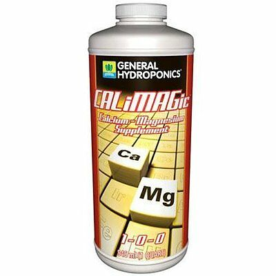 General Hydroponics CALiMagic 32 oz Quart qt - calcium magnesium supplement cal