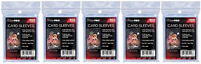 Ultra Pro Card Sleeves lot of 500 Free Shipping aka Penny , Soft Sleeves