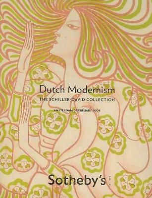 Sotheby's Dutch Modernism Schiller-David Collection Auction Catalog 2008