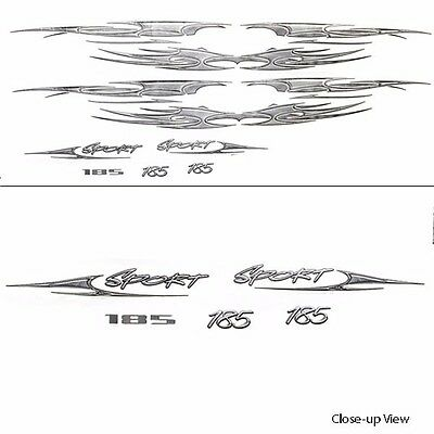 Sea Ray Boat Decals 1910262 | 185 SP Extreme Wakeboard 2006 (7 PC Set)