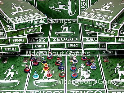 FOOTBALL CLUBS NEW ZEUGO TEAMS  SUBBUTEO Football Soccer Game Miniature Figures