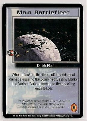 Babylon 5 CCG Wheel of Fire RARE Main Battlefleet NM