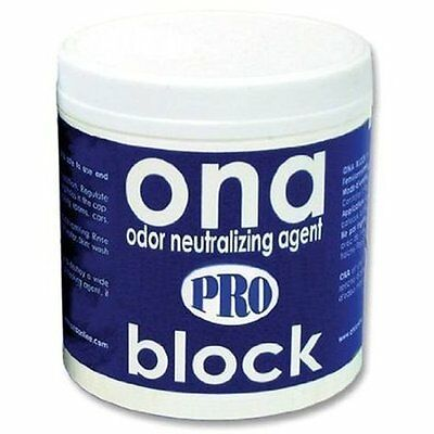 ONA Pro BLOCK 6 oz ounce - odor air neautralizer control block crystal