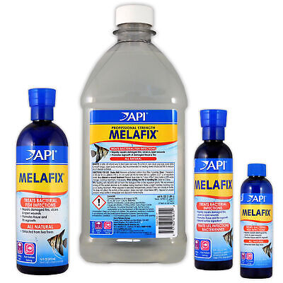 Api Melafix 118Ml 237Ml 473Ml Bacter Stop 1.9L Ulcers Fungus Fish Tank Treatment