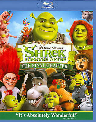 Shrek Forever After (Blu-ray Disc, 2010) Free Shipping