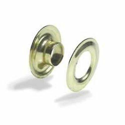 """Tandy Leathercraft 5/16"""" Brass Grommets 10 Pack New 1285-01"""