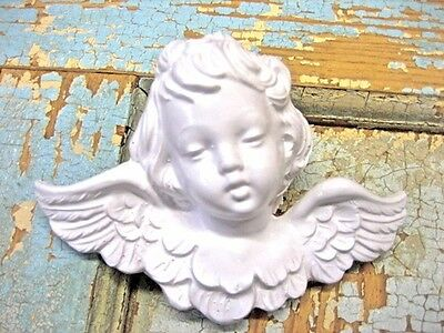 SHABBY n CHIC BABY FURNITURE APPLIQUES* ARCHITECTURAL CHERUB* ANTIQUE / VINTAGE