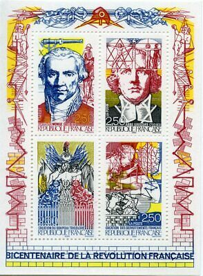 STAMP / TIMBRE BLOC FEUILLET NEUF n° 12 ** - REVOLUTION FRANCAISE