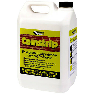 Everbuild Cemstrip Cement Remover Eco Friendly Concentrate - 5 Litre