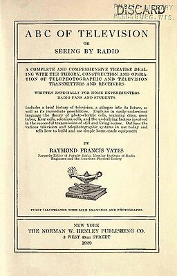ABC of Television or Seeing by Radio (1929) * CDROM * PDF