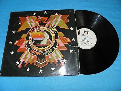 Hawkwind - In Search Of Space RARE DIFFERENT PRESS Israel Made 1971 LP