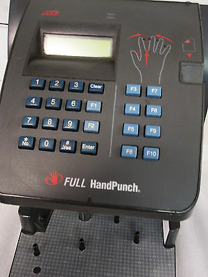 ADP Full HandPunch 4000 Biometric Full Punch w/ Ethernet w/ 1 Year Warranty