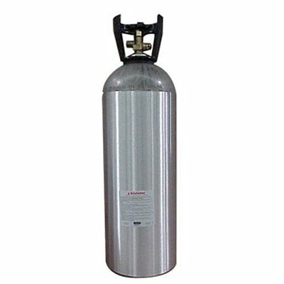 CO2 Tank Aluminum 20 lb - brand new cylinder homebrew beer keg hydroponics