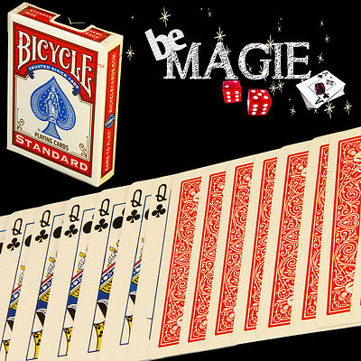 Jeu à FORCER Bicycle - Magie - Poker