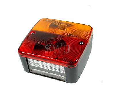12v 4 Function Replacement Trailer Tail Brake Indicator number Plate Light board
