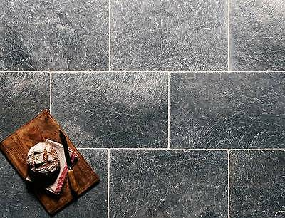 Marble Tiles Bluestone  Tumbled  approx 8 cm x 8 cm  ( sample )