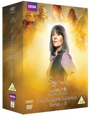 SARAH JANE ADVENTURES 1-5 (2007-2011) COMPLETE Dr Who Series NEW R2 DVD not US