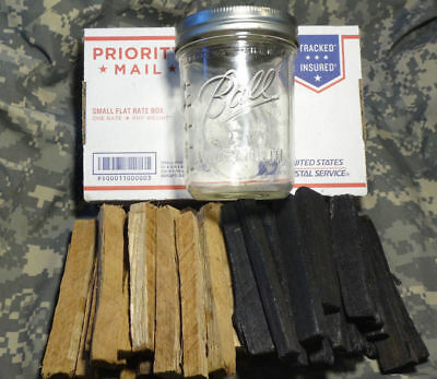 Charred + Toasted White American Oak Chips Distilling Moonshine Beer Wine Making