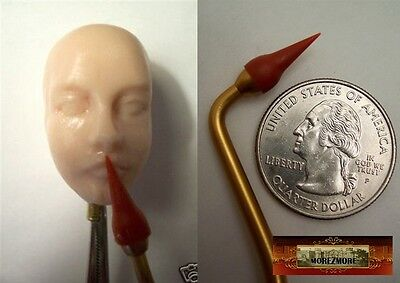 M00129 MOREZMORE Fine Point Rubber OOAK Doll Polymer Clay Sculpting Shaper Tool
