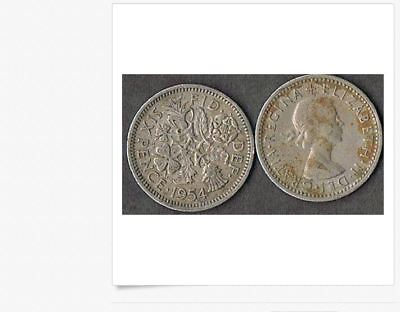 WOW Set of 8 Very Nice British Sixpence U K QUEEN ELIZABETH Coins 1960 to 1967