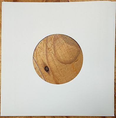"""100 x 7"""" / 45rpm SINGLE WHITE PAPER SLEEVES / COVERS FREE P&P"""
