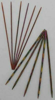 KnitPro Symfonie Wood Double Pointed Knitting Needles DPN 10cm length