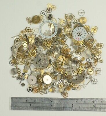 25g Watch parts ARTS CRAFTS STEAMPUNK ALTERED CYBERPUNK gears wheels findings