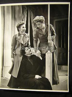 Three Sisters Judiith Anderson Katharine Cornell Eileen Darby Theatre Photo T115