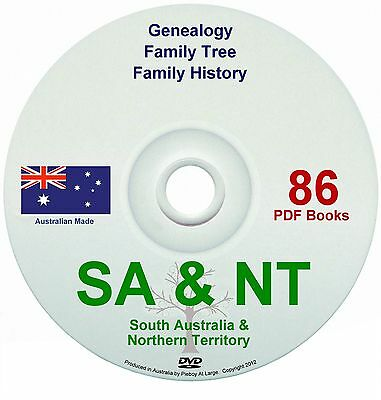 Family History Tree Genealogy South Australia & NT DV