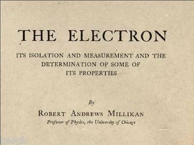 The Electron - Isolation and Measurement * CDROM * PDF * Electronics