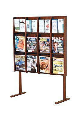 Wooden Mallet Optional Solid Oak Floor Stand for Divulge Models Mahogany LM-FSMH