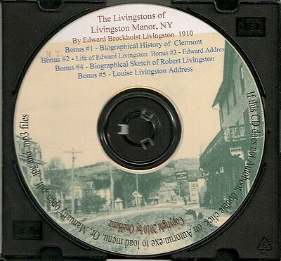 The Livingstons of Livingston Manor New York - History and Genealogy
