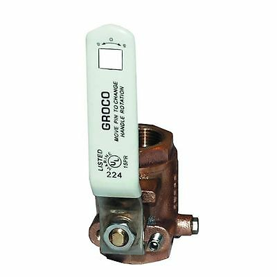 3/4 in. Groco In-line Ball Valve