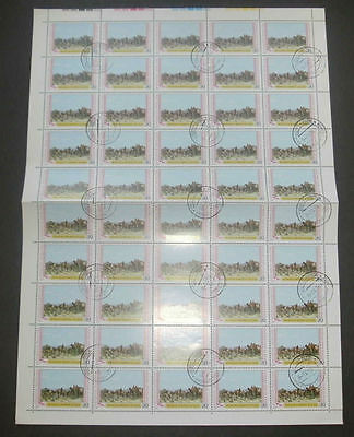 Mongolia 1979 Agriculture Camels Full Complete Sheet #S108