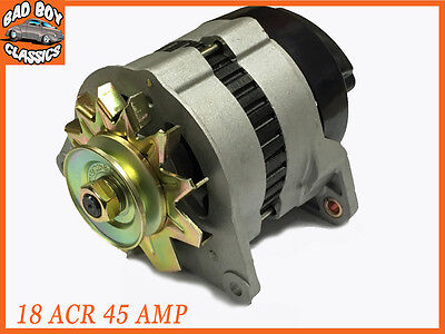 Complete 18ACR 45 Amp Alternator, Pulley & Fan Fits FORD PINTO