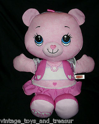 "16"" Fisher Price Pink Girl Doodle Teddy Bear 2010 Stuffed Animal Plush Toy Baby"
