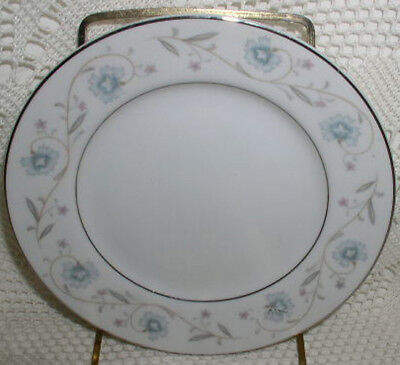 "English Garden 1221 Fine China Japan Bread Plate Plates 6-3/8"" Excellent!"