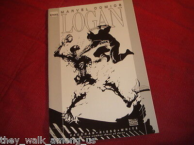 LOGAN #3 Black And White Variant Marvel Comics 2008 Wolverine, X-Men