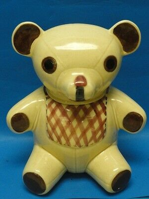 Vintage Bear Cookie Jar * Cutest Anywhere !
