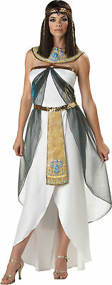 Egyptian Queen of Nile Adult Womens Costume Gown Ancient Princess Halloween